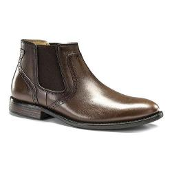 Men's Dockers Westwood Twin Gore Boot Chocolate Polished Full Grain Leather