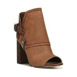 Women's Fergie Footwear Roland Open Toe Bootie Wicker Leather