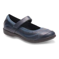 Girls' Hush Puppies Reese Mary Jane Navy Leather