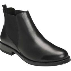 Women's Aerosoles Push N Pull Chelsea Boot Black Leather