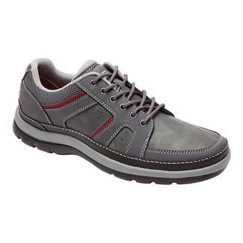 Men's Rockport Get Your Kicks Blucher Castlerock Grey Leather (Size 11.5)