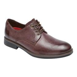 Men's Rockport Classic Break Plain Toe Oxford Chocolate Leather