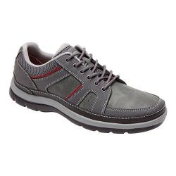 Men's Rockport Get Your Kicks Blucher Castlerock Grey Leather (Size 11.5)