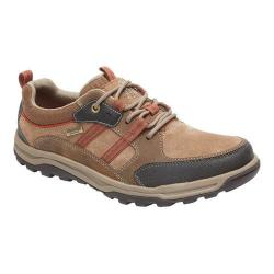 Men's Rockport Trail Technique Waterproof 3-Eye Hiking Shoe New Vicuna Synthetic Mesh