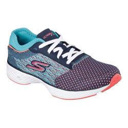 Women's Skechers GOwalk Sport Walking Shoe Navy/Aqua