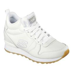 Women's Skechers OG 85 Street Sneaks High Top White