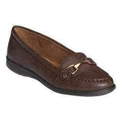 Women's A2 by Aerosoles Time Limit Loafer Brown Faux Leather