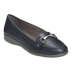 Women's A2 by Aerosoles Time Limit Loafer Navy Faux Leather