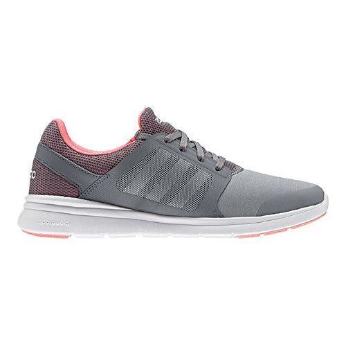 Women S Adidas Cloudfoam Expression Sneaker Grey White Ray