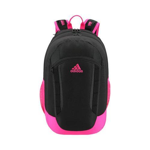 a9124ff8bfaf Shop Women s adidas Excel II Backpack Black Shock Pink Neo White - Free  Shipping Today - Overstock - 12422384