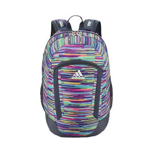 9f2a9dd7117b Shop Women s adidas Excel II Backpack Skyler Shock Pink Deepest Space Neo  White - Free Shipping Today - Overstock - 12422386