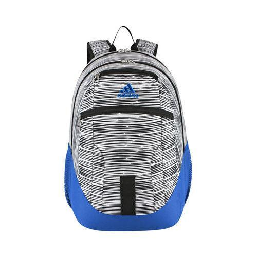 8a05dbe3e9 Shop Men s adidas Foundation II Backpack Lo Stripe Bright Blue Black - Free  Shipping On Orders Over  45 - Overstock.com - 12422390