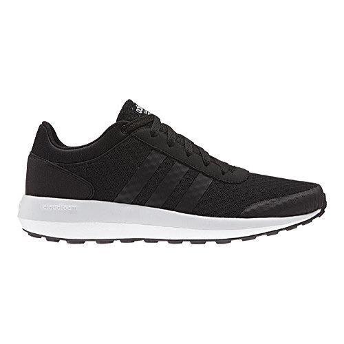 adidas neo cloudfoam all black