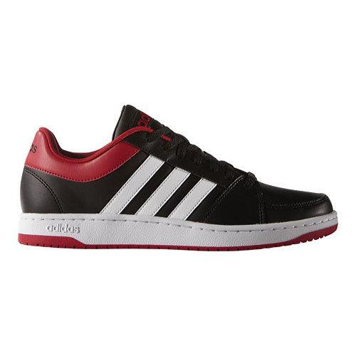 Luna Bonito formato  Men's adidas NEO VS Hoops Black/White/Power Red - Overstock - 12422411