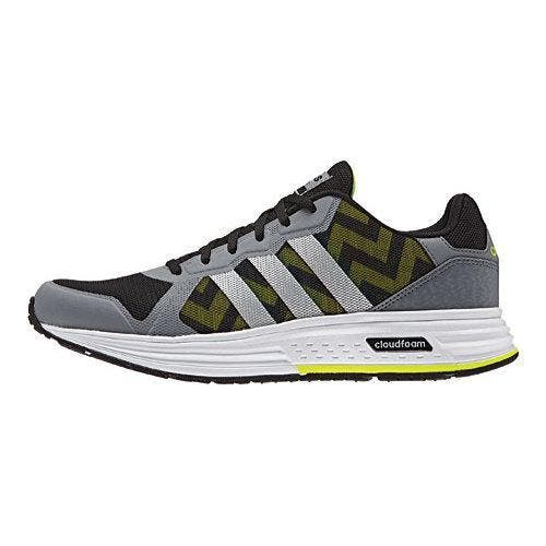 excellent quality affordable price cost charm Men's adidas NEO Cloudfoam Flyer Sneaker Grey/Matte Silver/Black |  Overstock.com Shopping - The Best Deals on Athletic