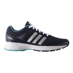 Women's adidas NEO Cloudfoam VS City Sneaker Collegiate Navy/Matte Silver/Vapour Blue
