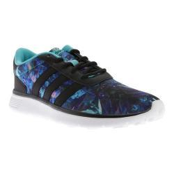 Women's adidas NEO Lite Racer Sneaker Black/Foil