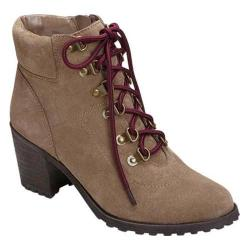 Women's Aerosoles Inception Ankle Boot Taupe Suede