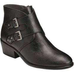 Women's Aerosoles Urban Myth Bootie Black Faux Leather