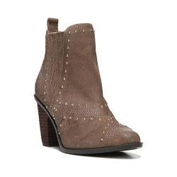 Women's Fergie Footwear Dina Western Chelsea Boot Truffle Taupe Leather