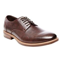 Men's Madden Aimms Plain Toe Oxford Brown Synthetic