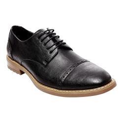 Men's Madden Atkin Cap Toe Oxford Black Synthetic