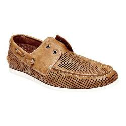 Men's Madden Gashh Boat Shoe Tan Synthetic