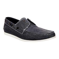 Men's Madden Glidr2 Boat Shoe Grey Fabric