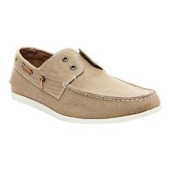 Men's Madden Glidr2 Boat Shoe Tan Fabric
