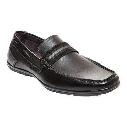 Men's Madden Nave Moc Toe Loafer Black Synthetic