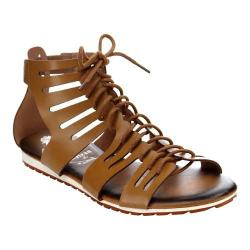 Women's Wild Diva Juliana-13-JA Gladiator Sandal Camel Faux Leather