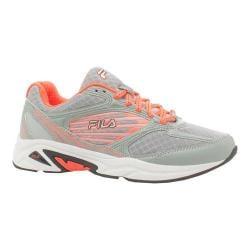 Women's Fila Inspell 3 Running Shoe Dark Silver/Black/Vibrant Orange