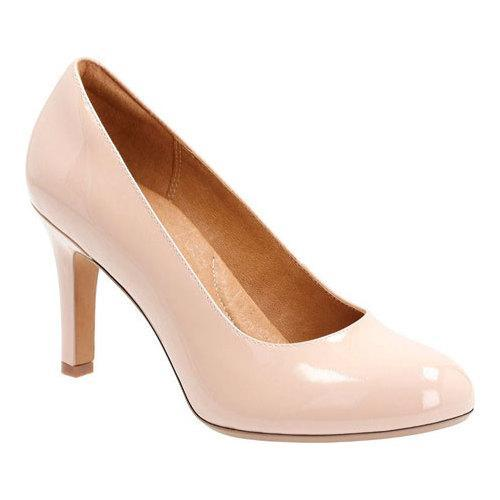 f10b46d1f28 Shop Women s Clarks Heavenly Star Pump Nude Cow Patent Leather ...