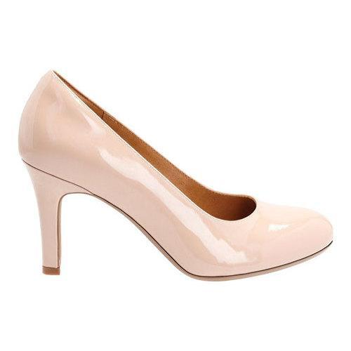 6457a149677 ... Thumbnail Women  x27 s Clarks Heavenly Star Pump Nude Cow Patent  Leather ...