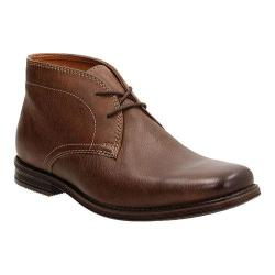 Men's Clarks Holmby Top Chukka Boot Brown Goat Full Grain Leather