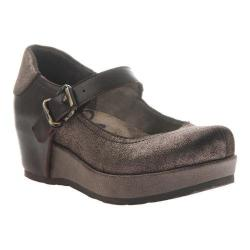 Women's OTBT Aura Mary Jane Flatform Dark Brown Leather