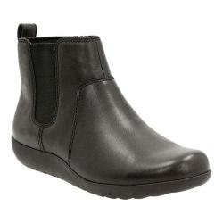 a792ba0651128 Shop Women's Clarks Medora Grace Chelsea Boot Black Cow Full Grain ...