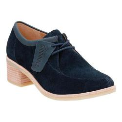 Women's Clarks Phenia Strand Lace Up Shoe Navy Suede