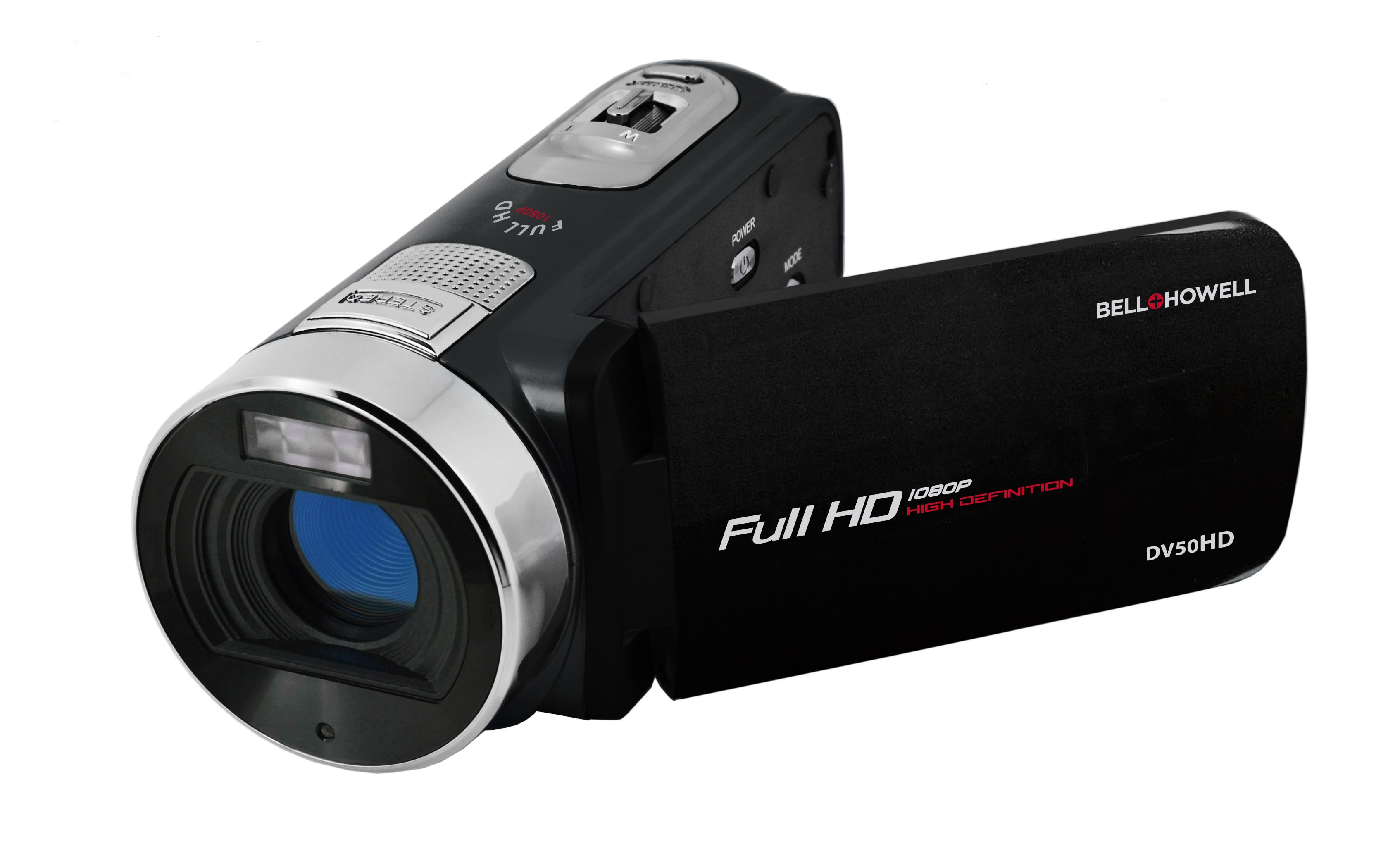 Bell and Howell DV50HD 1080p Full HD Video Camcorder with 20.0 MP Still Image Resolution and 3-inches Touch Screen LCD