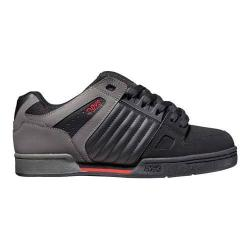 Men's DVS Celsius Black/Grey/Red Nubuck Leather