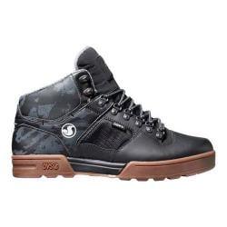 Men's DVS Westridge Snow Black/Camo/Gum Leather