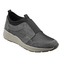 Women's Easy Spirit Ilex Sneaker Grey Multi Suede