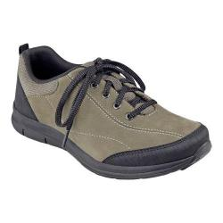 Women's Easy Spirit Solana Lace Up Dark Grey Multi Nubuck