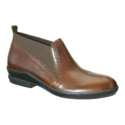 Women's David Tate Naya Bootie Brown Goat Leather