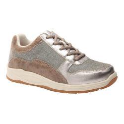 Women's Drew Tuscany Sneaker Pewter Leather/Nylon
