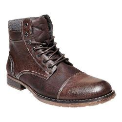 Men's Madden Tegan Cap Toe Boot Brown Synthetic