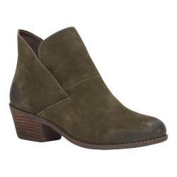 Women's Me Too Zale Slip On Boot Moss Suede