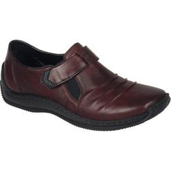 Women's Rieker-Antistress Celia 63 Slip On Medoc/Black/Burgund Leather/Synthetic Combo