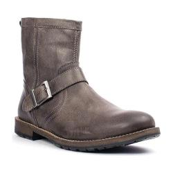 Men's Crevo Carston Engineer Boot Grey Leather