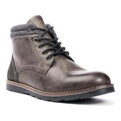 Men's Crevo Geoff Ankle Boot Grey Leather/Suede